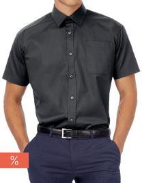Men´s Twill Shirt Sharp Short Sleeve