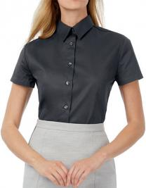 Women´s Twill Shirt Sharp Short Sleeve