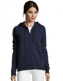 Women Hooded Zipped Jacket Seven