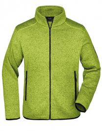 Men`s Knitted Fleece Jacket