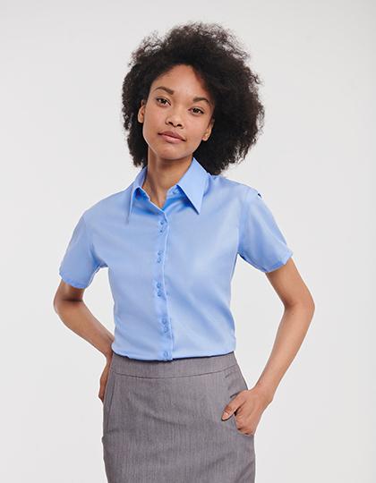Ladies´ Short Sleeve Tailored Ultimate Non-Iron Shirt