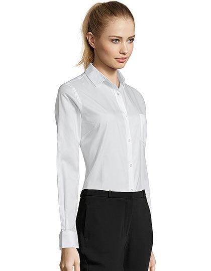 Women´s Long Sleeve Shirt Business